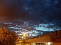 Naturhimmel cielo naturaleza nubes Kontraste Stockfotos