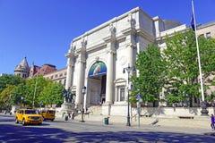 Naturhistoriamuseum i den övrevästra sidan av Manhattan Fotografering för Bildbyråer