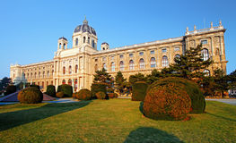 Naturhistoriamuseum, Wien. Österrike Royaltyfria Foton
