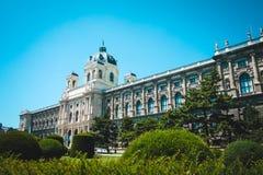 Naturhistorisches Museum auf Maria Theresa Square in Wien, Österreich Stockfoto