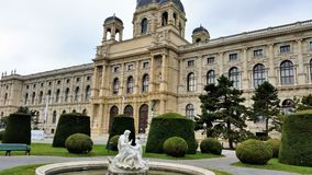 Naturhistorisches Museum, Vienna. The Natural History Museum in Vienna Royalty Free Stock Photo