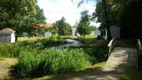Naturlandschaft Böhmen Stockbilder