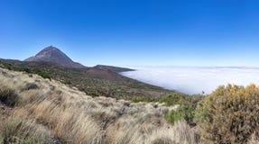 Naturlandschaft im Nationalpark Teneriffa stockbild