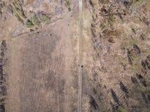 Naturlandschaft von der Höhe des Brummens lizenzfreie stockfotos