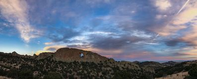Naturlig ärke- panorama Arkivfoton