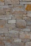 Naturlig bakgrund för modell för vägg för stengranittegelsten som är contemporar Royaltyfri Fotografi