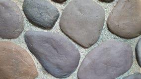 Naturlig bakgrund för tapet för stenvägg Royaltyfria Bilder