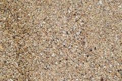 Naturlig bakgrund f?r sandstentextur Sand p? stranden som bakgrund Konkret textur f?r konstkr?m f?r bakgrund i svart royaltyfri fotografi