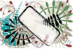 naturlig bakgrundsgrunge stock illustrationer