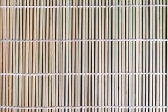 Naturlig bambu Mat Texture Background Fotografering för Bildbyråer