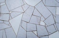 Naturlig blå textur för keramiska tegelplattor för trottoar för golv, vägg eller p Arkivfoto