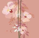Naturlig blommabukett Arkivfoton