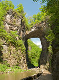 naturlig bro Arkivfoto