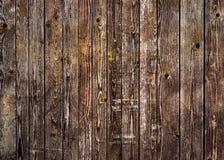 Naturlig brun ladugårdträvägg Modell för väggtexturbakgrund arkivbilder