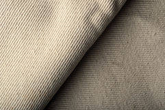 Naturlig burlap texturerar Arkivbilder