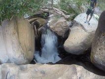 naturlig flod royaltyfri foto