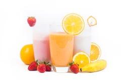 naturlig fruktfruktsaft Arkivfoton