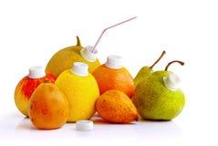 naturlig fruktsaft Royaltyfri Fotografi