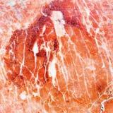 Naturlig gammal sprucken rosa färgmarmor vaggar modellen Arkivfoto