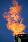 naturlig gas Royaltyfria Foton