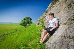 naturlig gräns inget online- Royaltyfri Fotografi