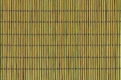 Naturlig grön bambu Mat Texture Background Arkivbild