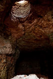 Naturlig grotta Arkivfoto