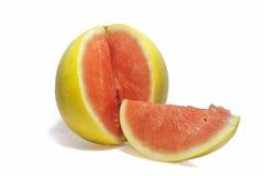 Naturlig gul vattenmelon Fotografering för Bildbyråer