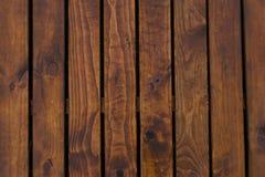 Naturlig inre med wood väggpaneler Textur av wood bruk som naturlig bakgrund Brun textur Abstrakt bakgrund, tom templ Royaltyfri Fotografi
