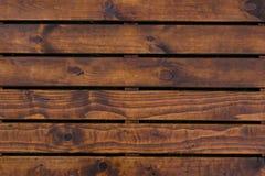 Naturlig inre med wood väggpaneler Textur av wood bruk som naturlig bakgrund Brun textur Abstrakt bakgrund, tom templ Arkivbild