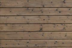 Naturlig inre med wood väggpaneler Textur av wood bruk som naturlig bakgrund Brun textur Abstrakt bakgrund, tom templ Royaltyfri Foto