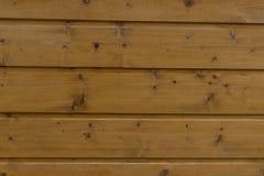 Naturlig inre med wood väggpaneler Textur av wood bruk som naturlig bakgrund Brun textur Abstrakt bakgrund, tom templ Royaltyfri Bild