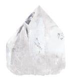 Naturlig isolerad kvartsvagga-kristall Royaltyfria Foton