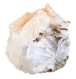 Naturlig isolerad Thomsonite sten Arkivbild