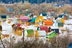 naturlig katastrof Arkivbild