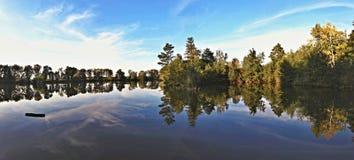 naturlig lake Arkivfoto
