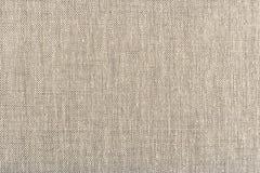 Naturlig linne gjord randig texturerad bakgrundskanfas Arkivfoto
