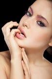 Naturlig makeup Arkivbilder
