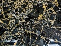 Naturlig modell för svart marmor för bakgrund, abstrakt naturlig marmor som är svartvit för design Fotografering för Bildbyråer