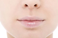 naturlig mun Fotografering för Bildbyråer