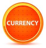 Naturlig orange rund knapp för valuta vektor illustrationer