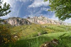 naturlig park somiedo för liggande Royaltyfri Fotografi