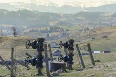 naturlig pipeline för gas royaltyfri foto