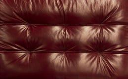 Naturlig röd kulör bakgrund för n-lädertextur Abstrakt design för bakgrund för tappningkohud Royaltyfria Foton