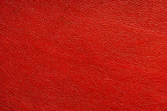 naturlig röd textur för tätt läder upp Royaltyfri Foto