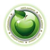 naturlig rengöringsduk för knapp Arkivbild