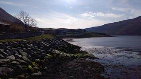 Naturlig skotsk kust royaltyfri bild