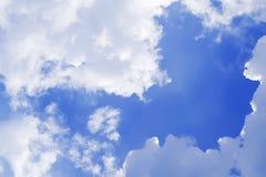 Naturlig skysammansättning naturlig sky för sammansättning Arkivfoto