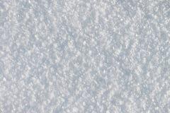 Naturlig snöbakgrund i vintern Royaltyfri Fotografi