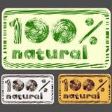 naturlig stämpel 100 Royaltyfria Foton
